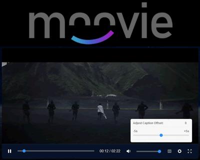 Moovie.js – Responsive Movie Focused HTML5 Player