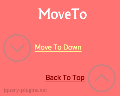MoveTo – Lightweight, Smooth Scrolling Javascript Library