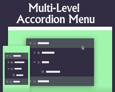 Multi-Level Accordion Menu