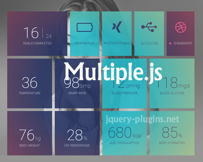 Multiple.js – Sharing Background Across Multiple Elements using CSS