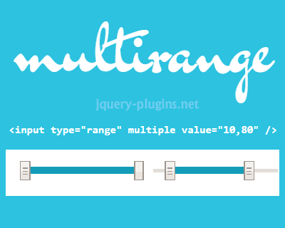 Multirange – Tiny Polyfill for HTML5 Multi-Handle Sliders