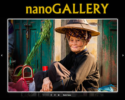 nanoGALLERY – jQuery Image Gallery