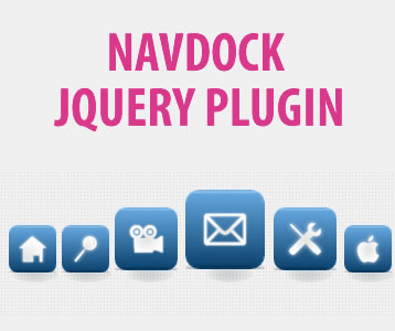 NavDock - jQuery Dock Menu Plugin