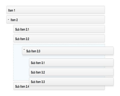 Nestable – Drag&Drop Hierarchical List jQuery Plugin