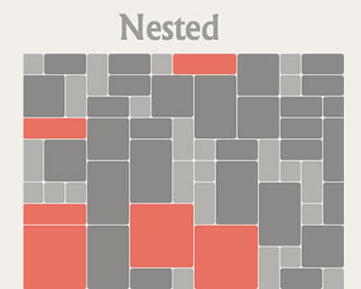 Nested – Gap Free, Multi Column Grid Layout jQuery Plugin