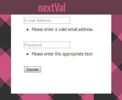 nextVal – Form Validation Plugin for jQuery