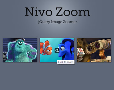 Nivo Zoom – jQuery Image Zoomer