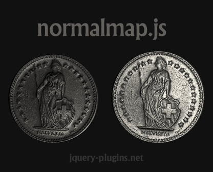 normalmap.js – Interactive Lighting Effects with jQuery