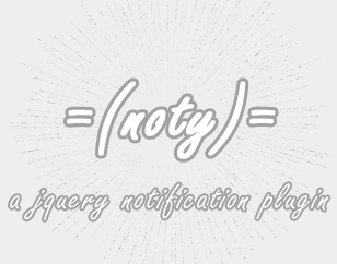 noty - jQuery Notification Plugin