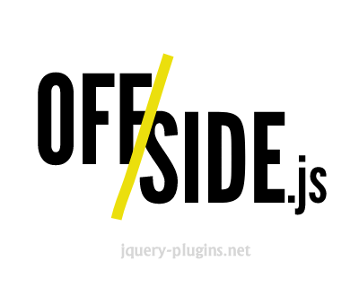 Offside.js – Off-Canvas Menu with Javascript