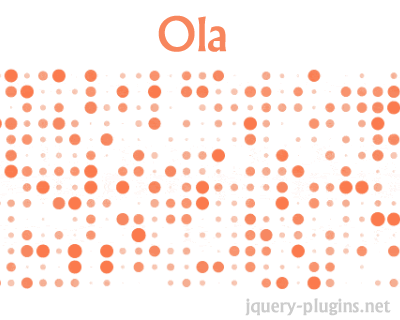Ola – Smooth Animation Library for Interpolating Numbers