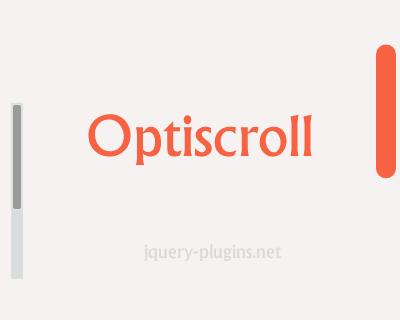 Optiscroll – Custom Scrollbars for Modern WebApps