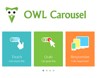 OWL Carousel – Touch Enabled and Responsive jQuery Carousel Slider