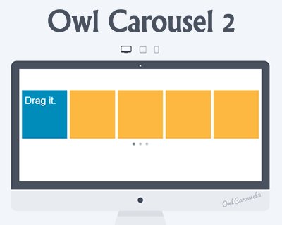 Owl Carousel 2 – jQuery Responsive and Touch Friendly Carousel