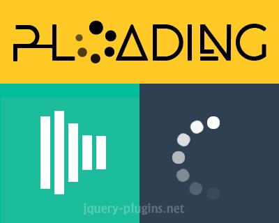 P-Loading – Elegant Responsive Loading Mask