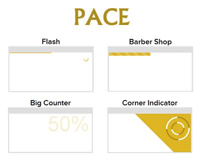 PACE – Automatic Page Load Progress Bar