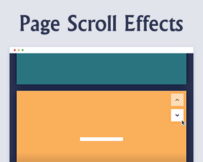 Page Scroll Effects | jQuery Plugins