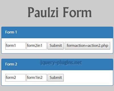 Paulzi Form – JavaScript Form Helpers