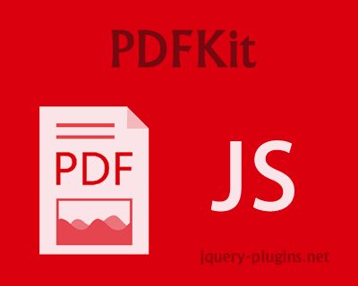 PDFKit – JavaScript PDF Generation Library for Node and Browser