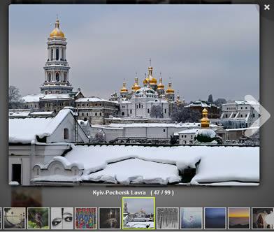 Photobox – CSS3 Image Gallery jQuery Plugin
