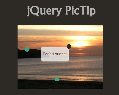 PicTip – jQuery Plugin to Add Handy Tooltips
