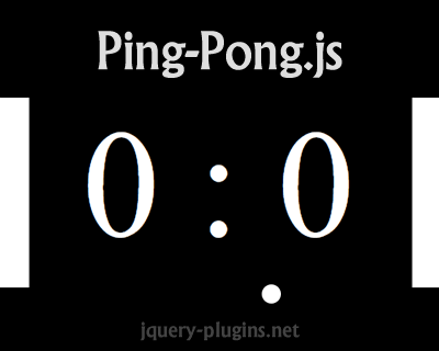 Ping-Pong.js – 2 Player Ping Pong Game with CSS and Javascript