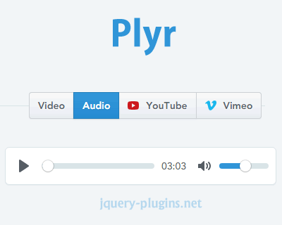 Plyr – Simple HTML5 Media Player