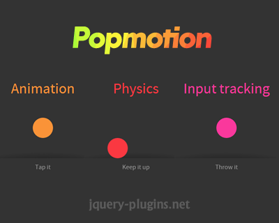 Popmotion – Javascript Motion Engine