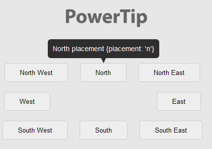 PowerTip – jQuery Plugin that Creates Hover Tooltips