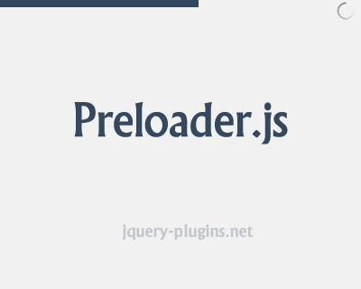 Preloader.js – YouTube Like Progress Bar