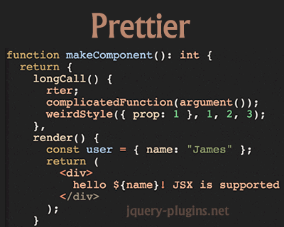Prettier – Opinionated JavaScript Formatter