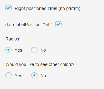 prettyCheckable – jQuery Plugin to Style Checkbox and Radio