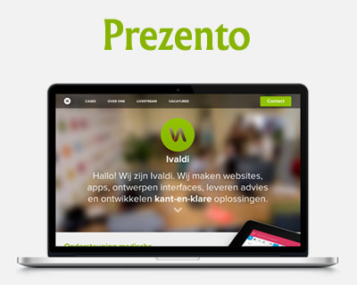 Prezento – jQuery Plugin to Showcase Your Web Designs