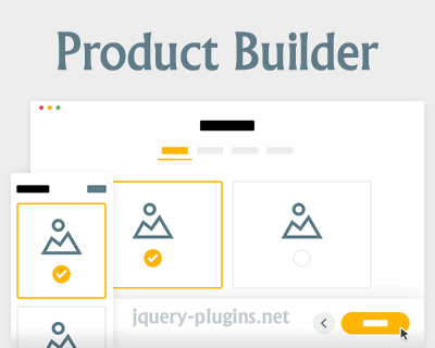 Product Builder with CSS and jQuery