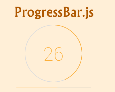 ProgressBar.js – Beautiful and Responsive Progress Bars