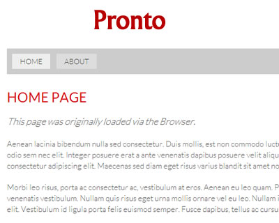 Pronto – jQuery Plugin for Faster Page Loads