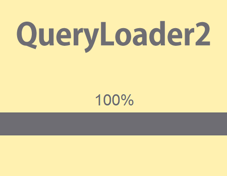 QueryLoader2 – Preload Images With Ease