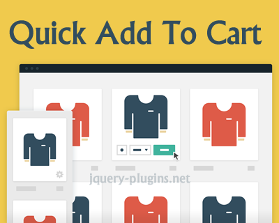 Quick Add To Cart with CSS and jQuery