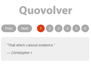 Quovolver – Simple jQuery Plugin for Revolving Quotes