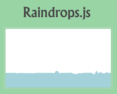 Raindrops.js – Raindrops Effect Plugin for jQuery