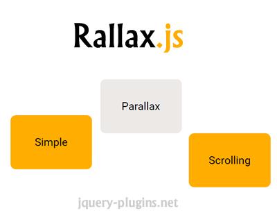 Rallax.js – Dead-Simple Parallax Scrolling Plugin