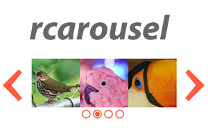 rcarousel – A Continuous jQuery UI Carousel