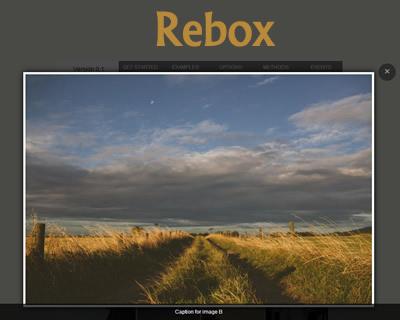Rebox – Responsive jQuery Lightbox Plugin