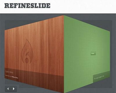 RefineSlide – Responsive Image Slider With CSS3 Effects