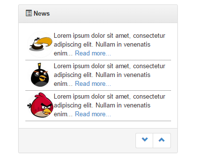 Responsive jQuery News Ticker Plugin with Bootstrap