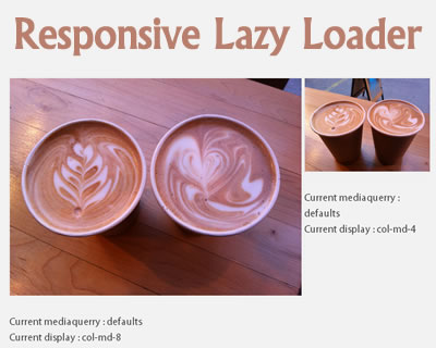 Responsive Lazy Loader Plugin