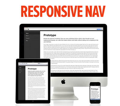 Responsive Nav – Responsive Navigation Plugin with Touch Support