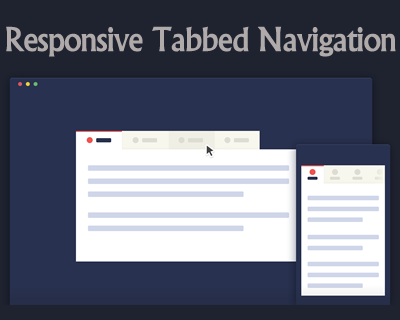 Responsive Tabbed Navigation