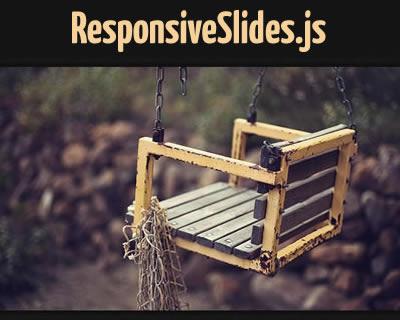 ResponsiveSlides – Responsive Slider Plugin