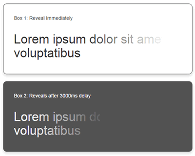 reveal-it.js – jQuery Plugin for Animated Fade-In Text Effects